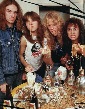 Hell yeah!!!, Metallica en sus años dorados.